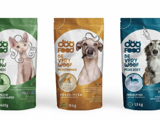 Un cibo… da cani. Visual Design Forza10