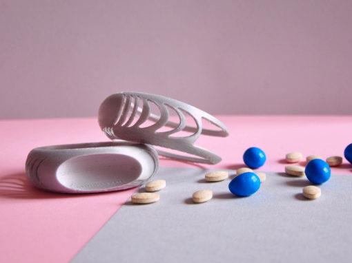 3D Way Bracciale porta pillole